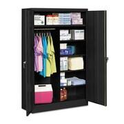 Tennsco Jumbo 48'' Storage Cabinet; Black