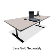 Bretford Rectangular Conference Table,42''x96''x29'',Gray Nebula