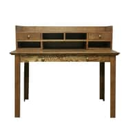 Forest Designs Writing Desk with Drawers; Coffee Alder