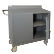 Durham Manufacturing 38.37'' H x 36'' W x 18'' D Mobile Bench Cabinet