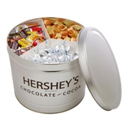 Hershey's Miniatures Assortment Gift Tin, 11 lbs. (46086)