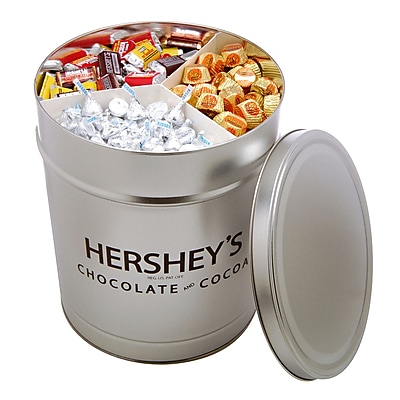 Hershey's Miniatures Assortment Gift Tin, 15 lbs. (46088) 1578240