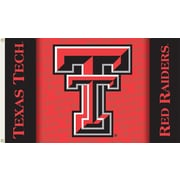 BSI Products NCAA Traditional Flag; Texas Tech - TT Logo on Red