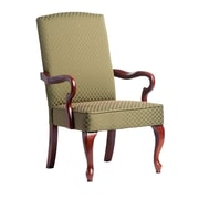 Comfort Pointe Derby Fabric Arm Chair; Green