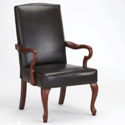 Comfort Pointe Derby Arm Chair in Dark Brown