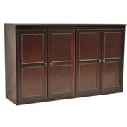 Concepts in Wood Multi Storage Unit TV Stand and Buffet; Cherry