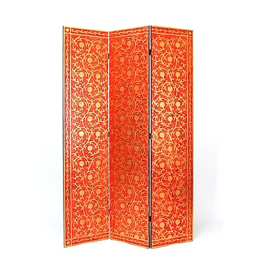Wayborn 72'' x 48'' Vine 3 Panel Room Divider