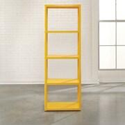Sauder Soft Modern 69.72'' Standard Bookcase; Yellow Saffron