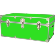 Rhino Trunk and Case Extra Extra Large Armor Trunk; Neon Green