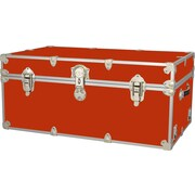 Rhino Trunk and Case Extra Extra Large Armor Trunk; Orange