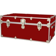 Rhino Trunk and Case Extra Extra Large Armor Trunk; Red