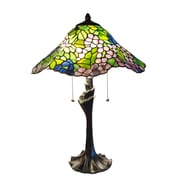 Fine Art Lighting Tiffany 23'' H Table Lamp with Novelty Shade