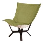 Howard Elliott Milan Bella Puff Chair; Moss