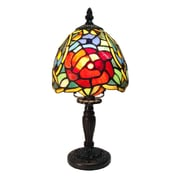 Fine Art Lighting Tiffany 12.5'' H Table lamp with Novelty Shade