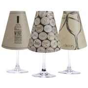 di Potter 4.5'' Napa Paper Wine Glass Lamp Shade (Set of 6)