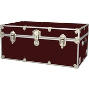 Rhino Trunk and Case Extra Extra Large Armor Trunk; Wine