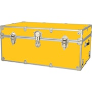 Rhino Trunk and Case Extra Extra Large Armor Trunk; Yellow