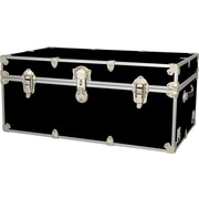 Rhino Trunk and Case Extra Extra Large Armor Trunk; Black