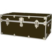 Rhino Trunk and Case Extra Extra Large Armor Trunk; Brown