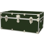 Rhino Trunk and Case Extra Extra Large Armor Trunk; Forest Green