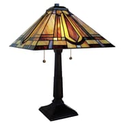 Fine Art Lighting Tiffany 23'' H Table Lamp with Empire Shade