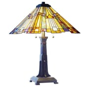 Fine Art Lighting Tiffany 25'' H Table Lamp with Empire Shade