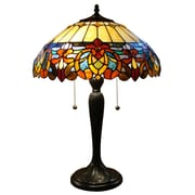 Fine Art Lighting Tiffany 25'' H Table Lamp with Bowl Shade