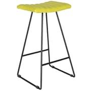 Safavieh Akito 30'' Bar Stool with Cushion (Set of 2); Citron Green