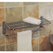 Gatco Wall Mounted Towel Rack; Chrome