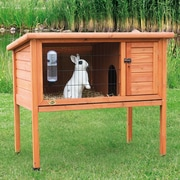 Trixie Natural 1 Story Small Animal Hutch; 36'' H x 40.75'' W x 24.75'' D