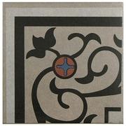 EliteTile Cementa 7'' x 7'' Ceramic Glazed Tile in And Esquina