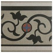 EliteTile Cementa 7'' x 7'' Ceramic Glazed Tile in And Cenefa