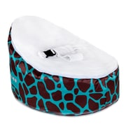 Totlings  Snugglish Bean Bag Chair; Teal / White