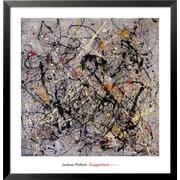 Art Jackson Pollock 'Number 18, 1950' 31 x 30 (1204055)