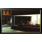 Art Edward Hopper 'Nighthawks, c.1942' 21 x 35 (2728519)