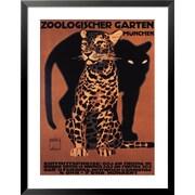 Art 'Zoologischer Garten, 1912' 36 x 28 (4173553)