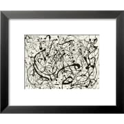 Art Jackson Pollock 'No. 14 (Gray)' 15 x 18 (4265135)