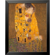 Art Gustav Klimt 'The Kiss, c.1907' 22 x 18 (4324567)