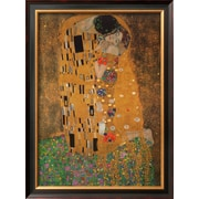 Art.com Gustav Klimt 'The Kiss, c.1907'  30 x 22 (4653741)