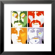 Art 'The Beatles - Sea Of Science' 18 x 18 (4833787)