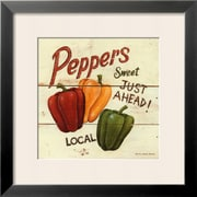 Art David Carter Brown 'Sweet Peppers' 19 x 19 (4899279)