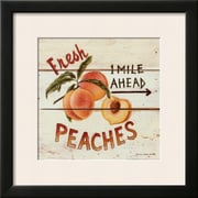 Art David Carter Brown 'Fresh Peaches' 19 x 19 (4899292)
