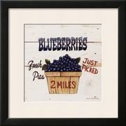 Art David Carter Brown 'Blueberries Just Picked' 19 x 19 (4899328)
