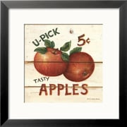 Art David Carter Brown 'U-Pick Apples, Five Cents' 19 x 19 (4899368)