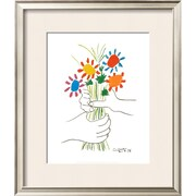 Art pablo picasso 39 petite fleurs 39 20 x 17 4911752 staples for Picasso petite fleurs