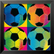 Art 'Ball Four: Soccer' 18 x 18 (5240470)