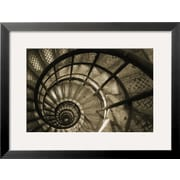Art Christian Peacock 'Spiral Staircase in Arc de Triomphe' 19 x 25 (7642946)