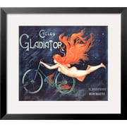 Art Georges Massias 'Cycles Gladiator' 22 x 25 (7645679)