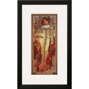 Art Alphonse Mucha 'Automne, 1900' 24 x 14 (7648135)