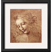 Art.com  Leonardo da Vinci 'Female Head (La Scapigliata), c.1508'  17 x 16 (7653010)